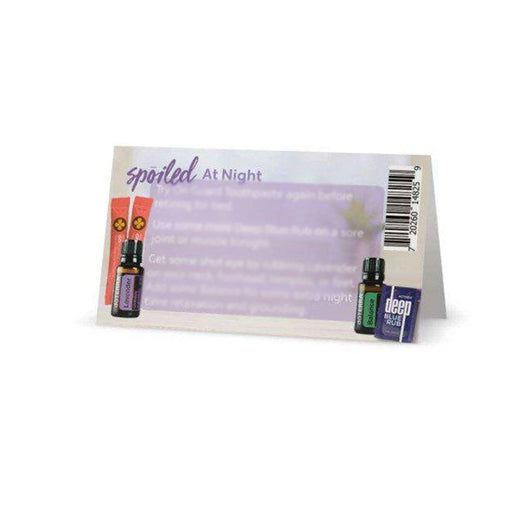 Spoil Yourself with doTERRA Sampling Cards - Your Oil Tools