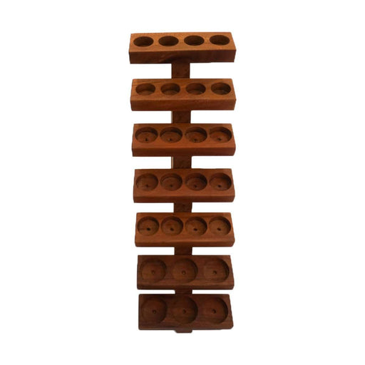Handcrafted Wooden Staircase Display Rack (Wild Cherry) - Your Oil Tools