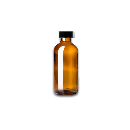 1 oz Amber Glass Bottle w/ Storage Cap - Your Oil Tools