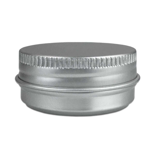 15 ml Aluminum Tin Jar w/ Screw Top Lid - Your Oil Tools