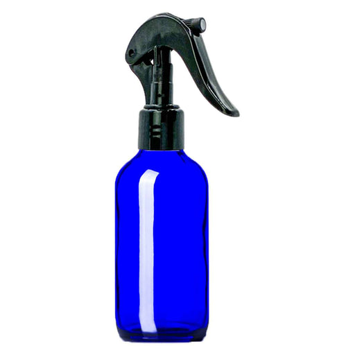 4 oz Blue Glass Bottle w/ Trigger Sprayer - Your Oil Tools
