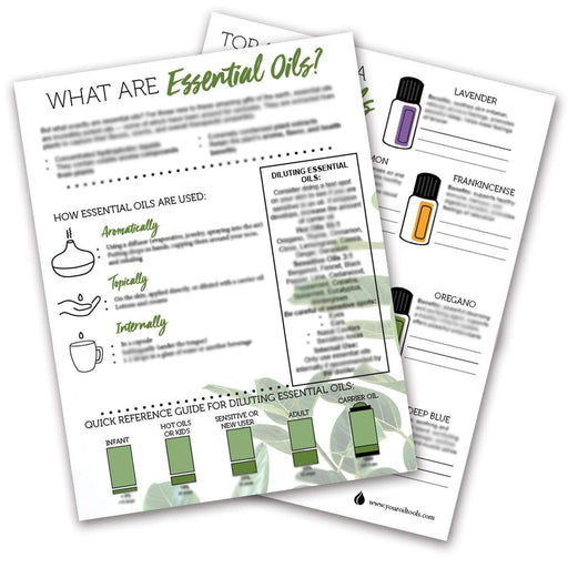 What are Essential Oils? Tear Pad (digital download) - Your Oil Tools