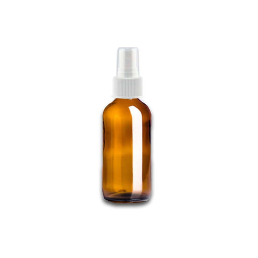 1 oz Amber Glass Bottle w/ White Fine Mist Top - Your Oil Tools