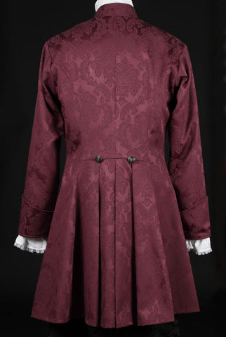 425BR - Brocade Priory Coat