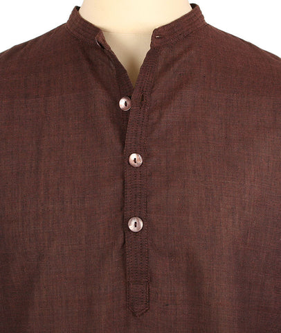 427 - Bohemia Shirt (Ivory, Black, Brown)