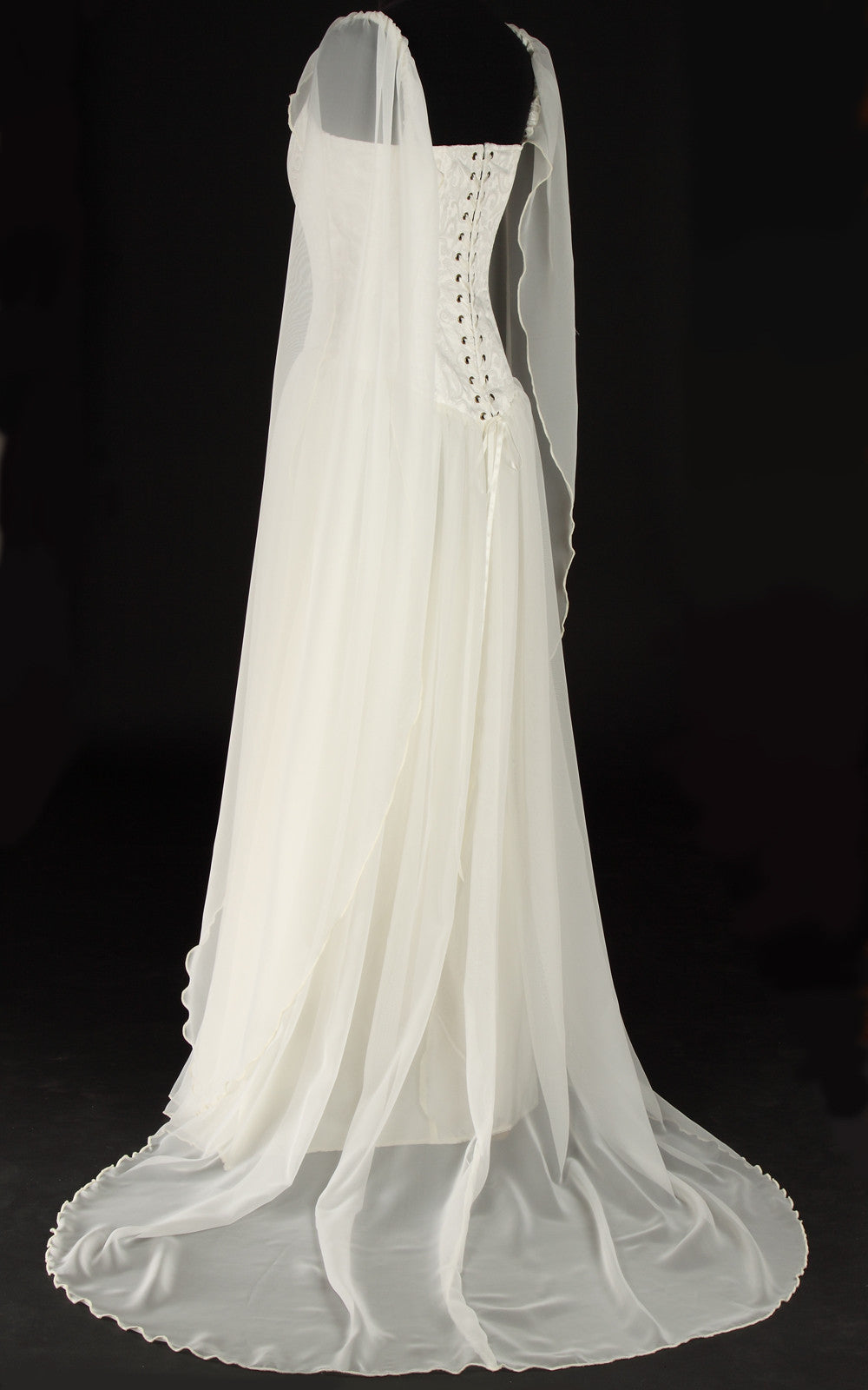 Elven style wedding gown the dark angel for Elven inspired wedding dresses