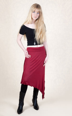 491 - Asymmetric Pixie Skirt