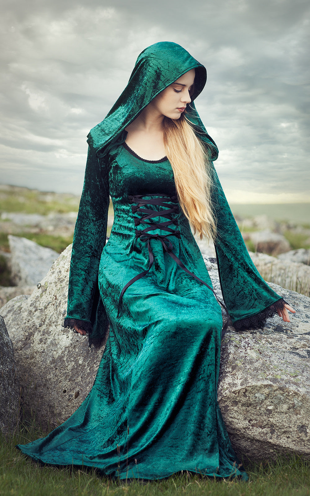 502 - Hooded Gown – The Dark Angel