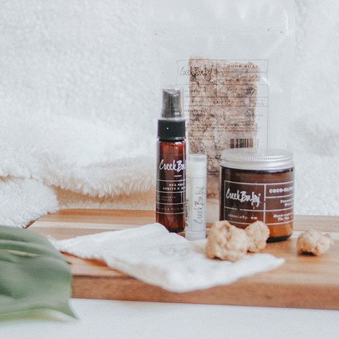 the perfect way to start using natural organic skin care and makeup
