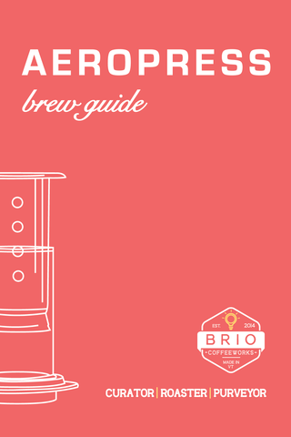 Aeropress Brewer Brew Guide Brio Coffeeworks