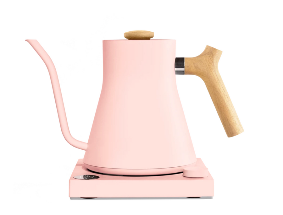 Stagg EKG Electric Pour Over Kettle - Pink + Maple