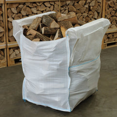 Bulk Bag Kiln Dried Logs - 100% Ash
