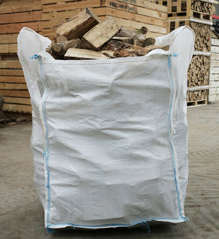 Bulk Bag Seasoned Logs - Mixed wood