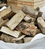 Bulk Bag Seasoned Logs - Hardwood