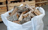Bulk Bag Kiln Dried Hardwood Logs -  Ash, Oak and Silver Birch