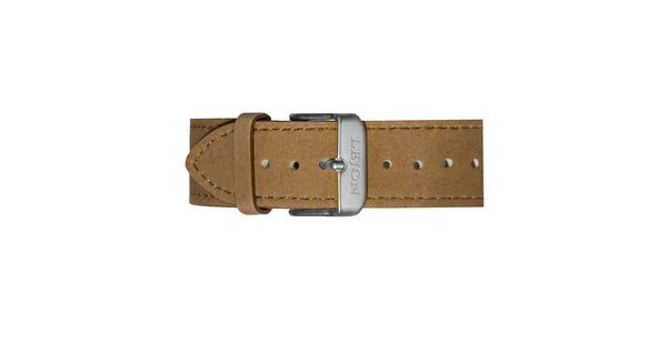 Genuine Leather Strap Brown