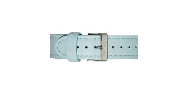 Genuine Leather Strap Light Blue