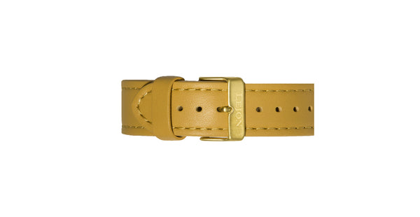 Genuine Leather Strap Camel Brown