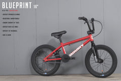 "2021 Sunday Blueprint 16"" (Matte Red with 15.5"" tt)"