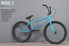 "2021 Sunday Model C 24"" (Gloss Surf Blue with 22"" tt)"