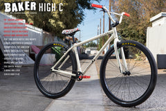 "2021 Sunday x BAKER High C 29"" (Gloss Classic White with 23.5"" tt)"