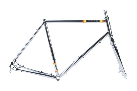 2017 Weekender Disc Frame and Fork Kit (Chrome)