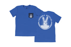 Attractive Pocket Tee (Heather Royal Blue)
