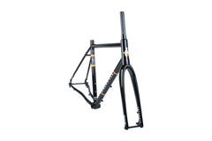 Rockitship Gravel Frame and ENVE CX Fork Kit (Chocolate Brown or Black)