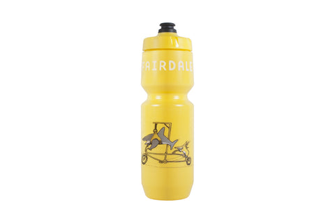 Shark Bike Purist Bottle (26oz) - Yellow