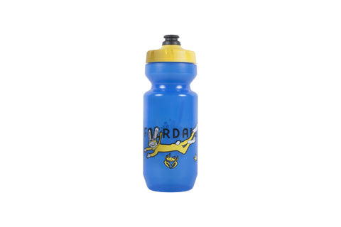 Shark Walk Purist Bottle (22oz) - Trans. Blue