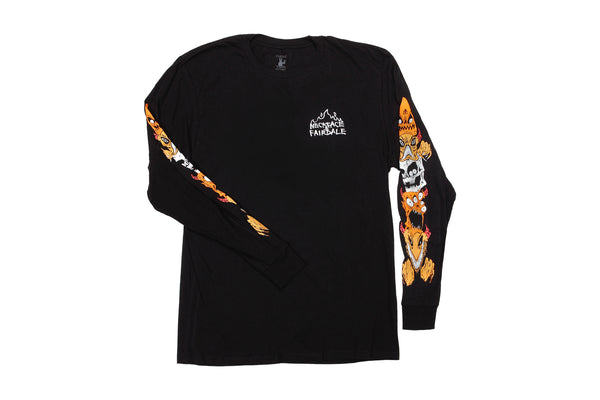 Fairdale x Neckface Neckstack Long Sleeve (Black)