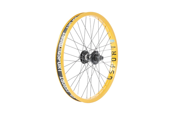 GSport Elite FC Rear Wheel (Anodized Gold)