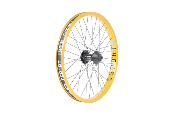 GSport Elite Front Wheel (Anodized Gold)