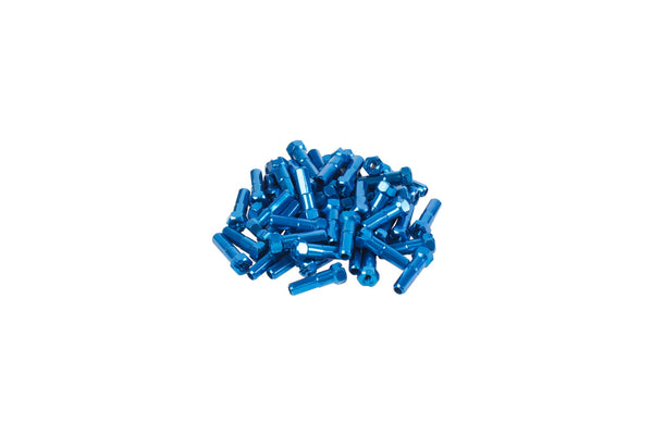 GSport Taper-Hex Nipples (Anodized Blue)