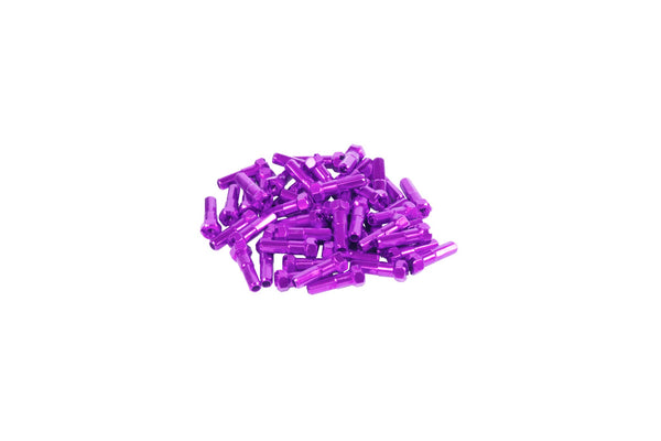 GSport Taper-Hex Nipples (Anodized Purple)