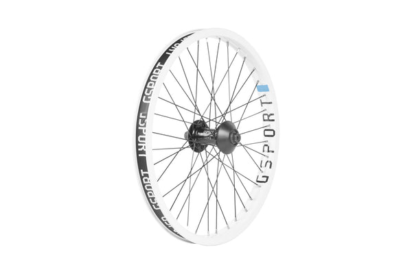 GSport Elite Front Wheel (White)