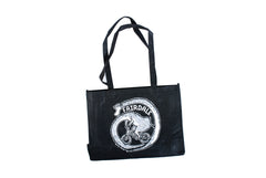 Giraffe Tote Bag (Black)