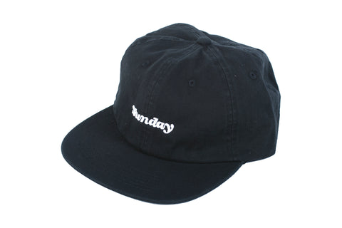 Classy Unstructured Hat (Black)