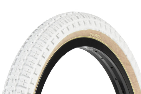 Aitken Knobby Tire (White/Tan)