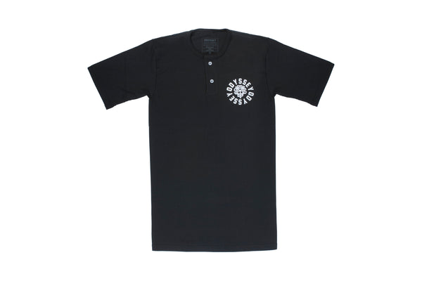 Central Henley Tee (Black)