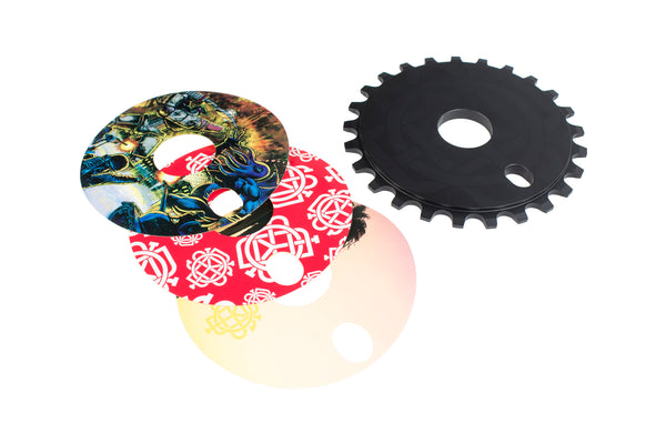 Discogram Sprocket (Sunset, Monogram All-Over, and Versus Decals)