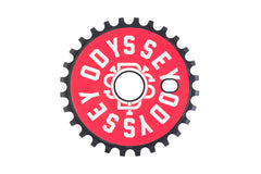 Discogram Sprocket (Red Central and Black Wrenches Decals)
