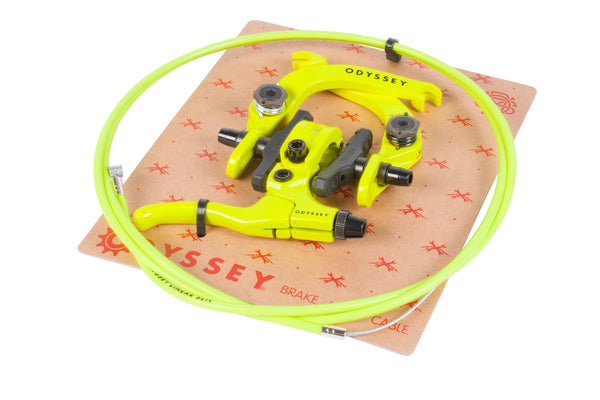 Odyssey Evo 2.5 Brake Kit (Fluorescent Yellow)