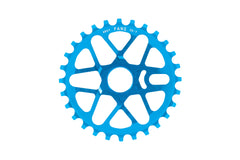 Fang Sprocket (Anodized Cyan)