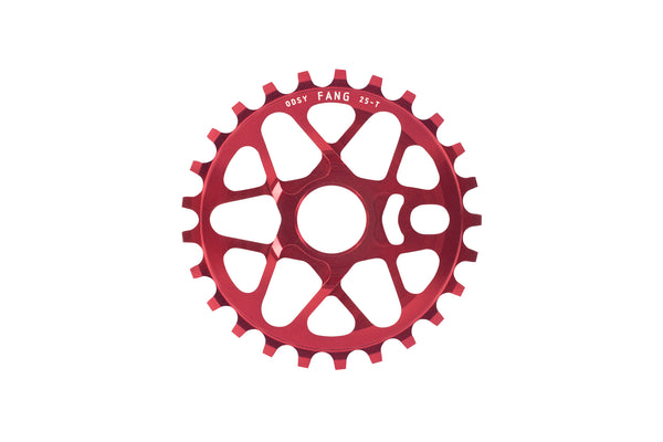 Fang Sprocket (Anodized Red)