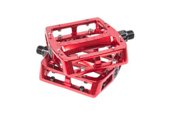 Grandstand Alloy Pedals (Electroplated Red)
