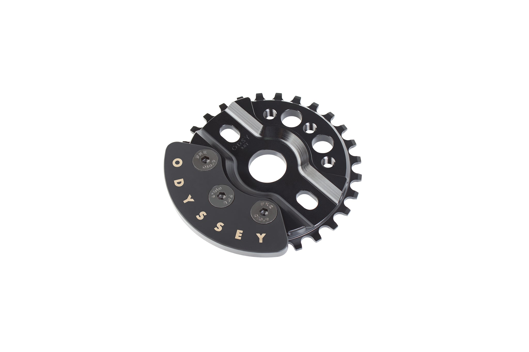 ODYSSEY HALFBASH 28T BLACK BICYCLE SPROCKET Chainrings & BMX Sprockets Bicycle Components & Parts