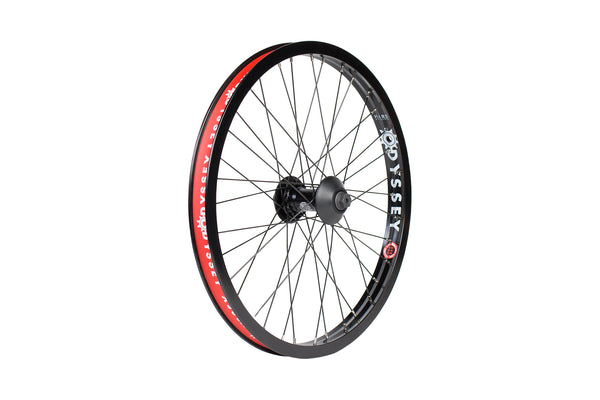 Hazard Lite Front Wheel (Black/Black, Black/Polished, or Chrome/Black)