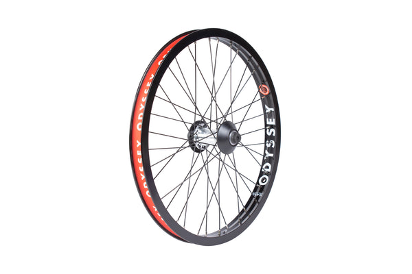 Odyssey Hazard Lite Front Wheel (Polished Hub)