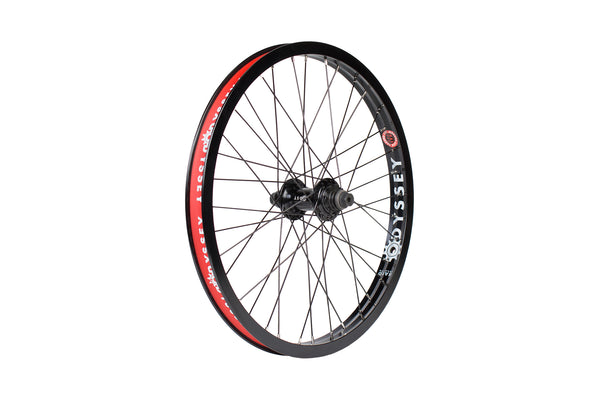 Hazard Lite Cassette Wheel / Antigram v1 Hub (Black or Chrome Rim)